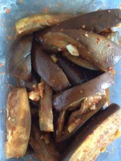 korean eggplant sidedish